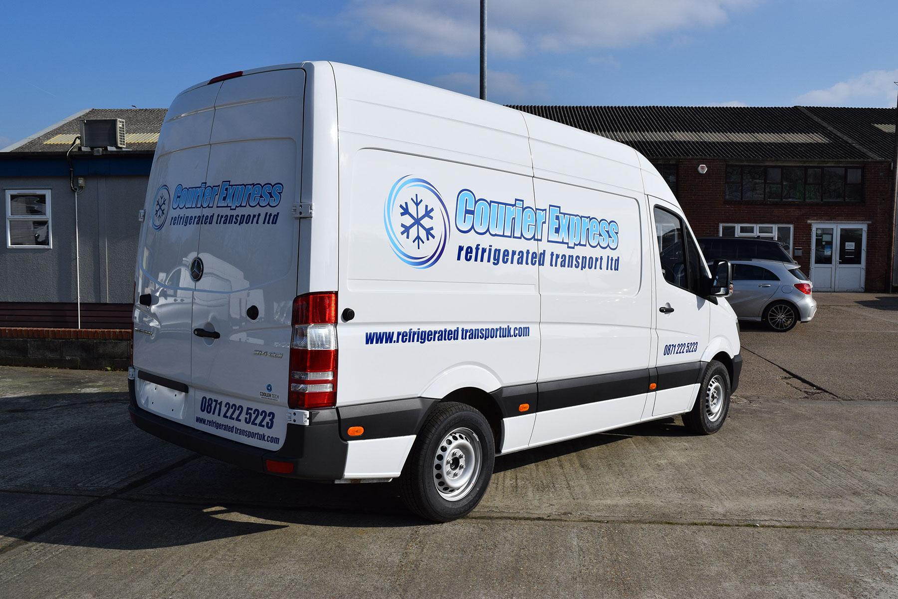 Courier Express Frozen Courier Service