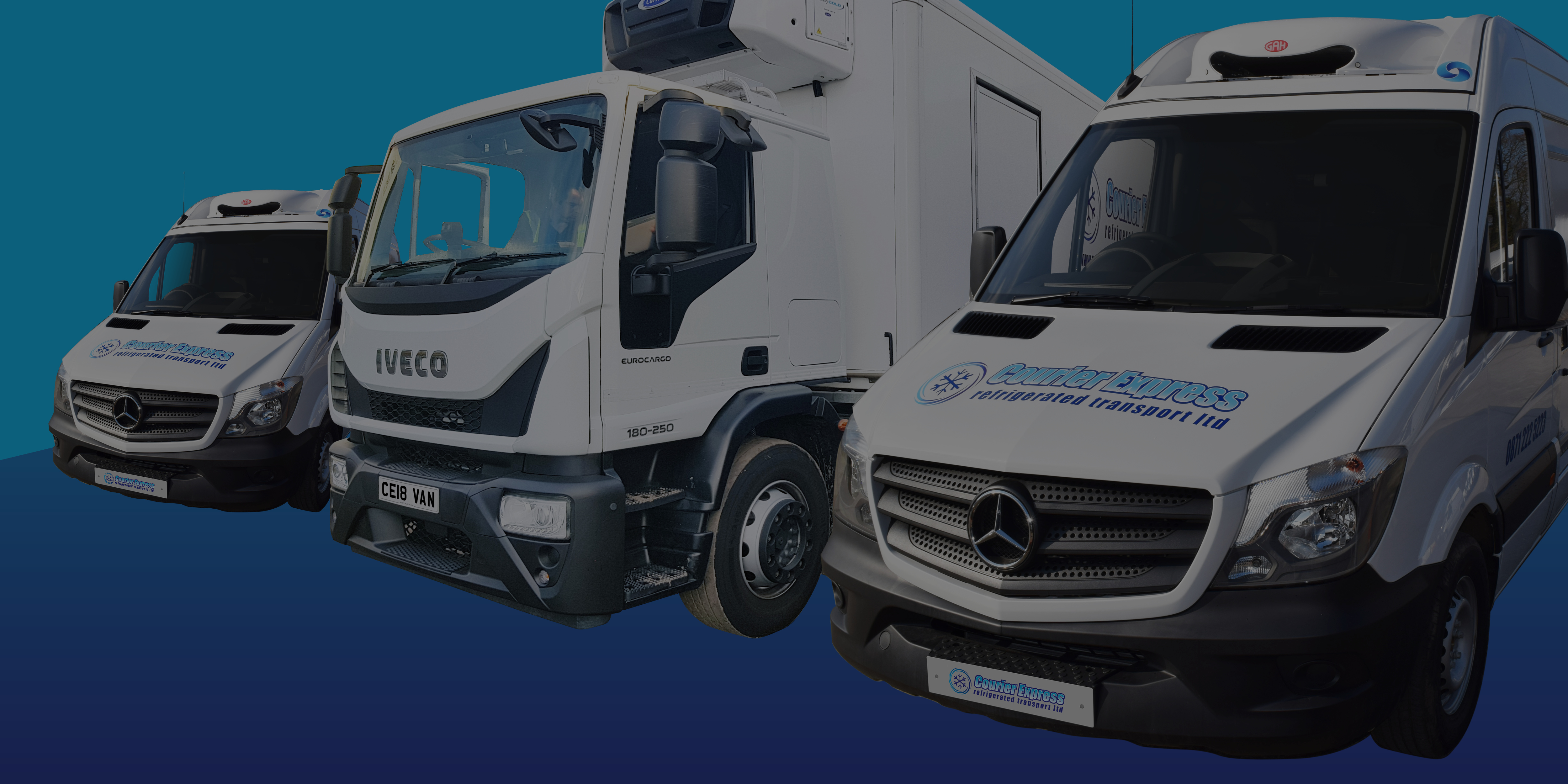 courier express | fleet of vehicles - multi-drop food service