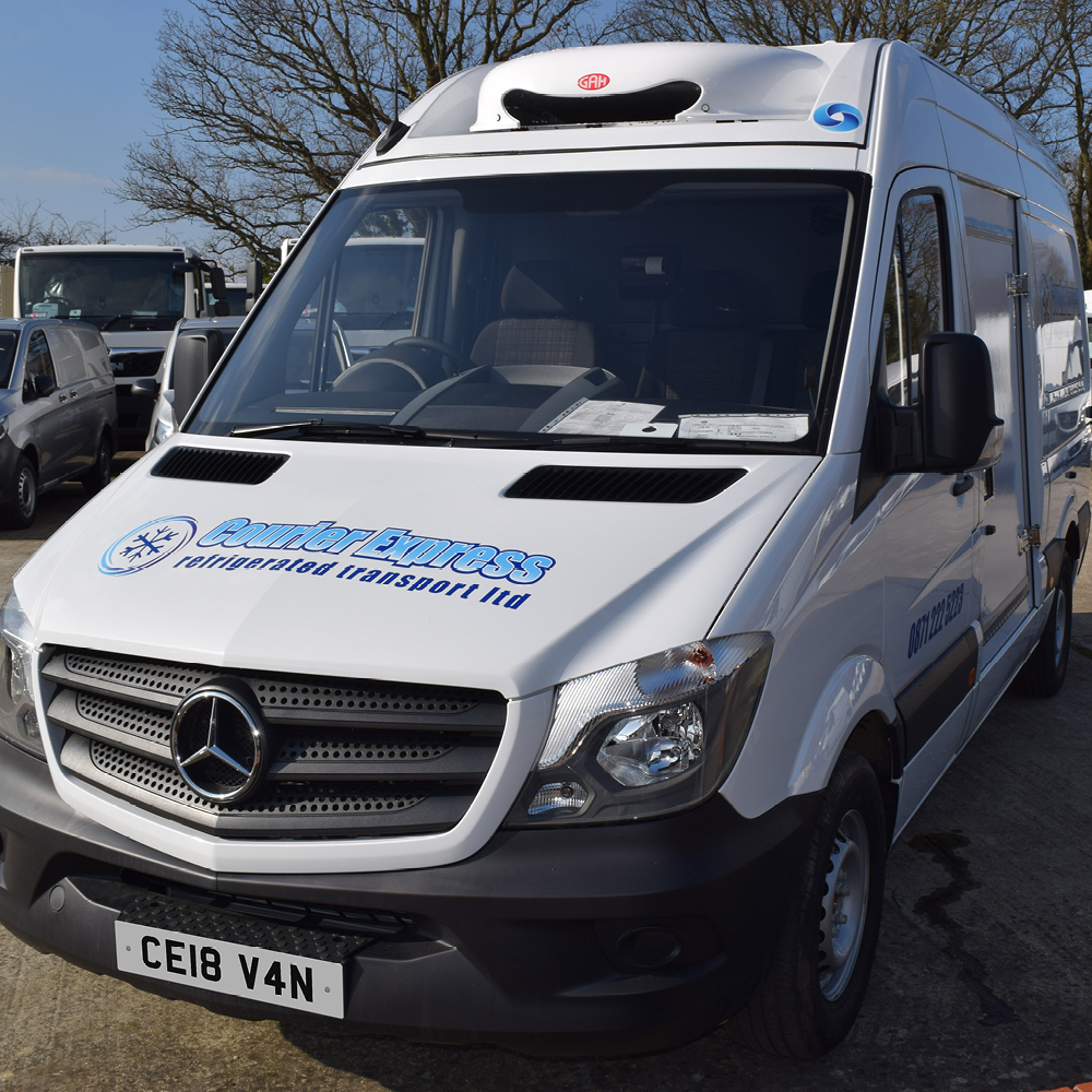 courier express - new vehicle front