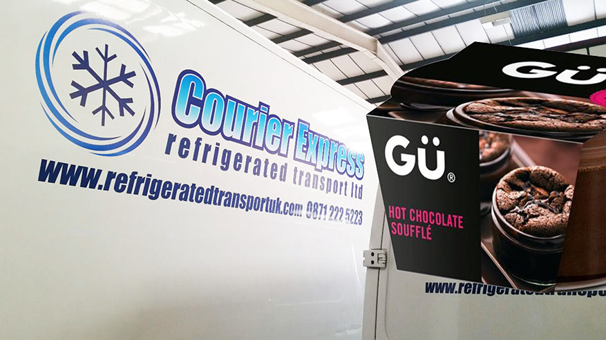 Courier Express Service for Gu Puds