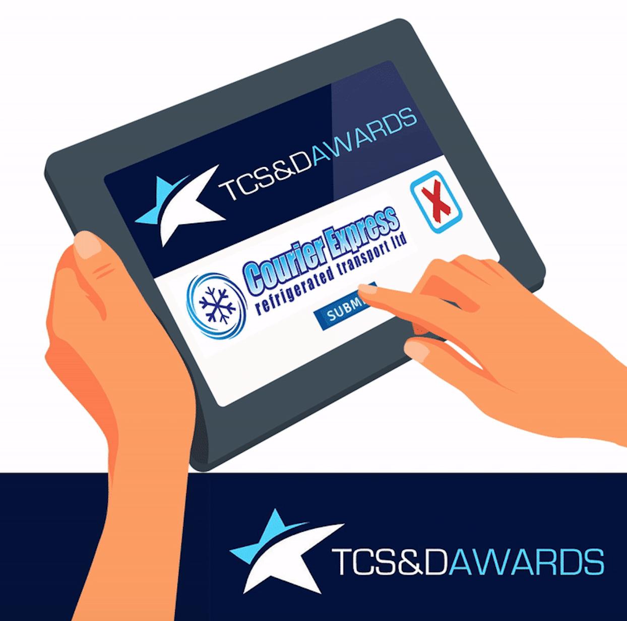 Courier Express shortlist TCS&D Awards