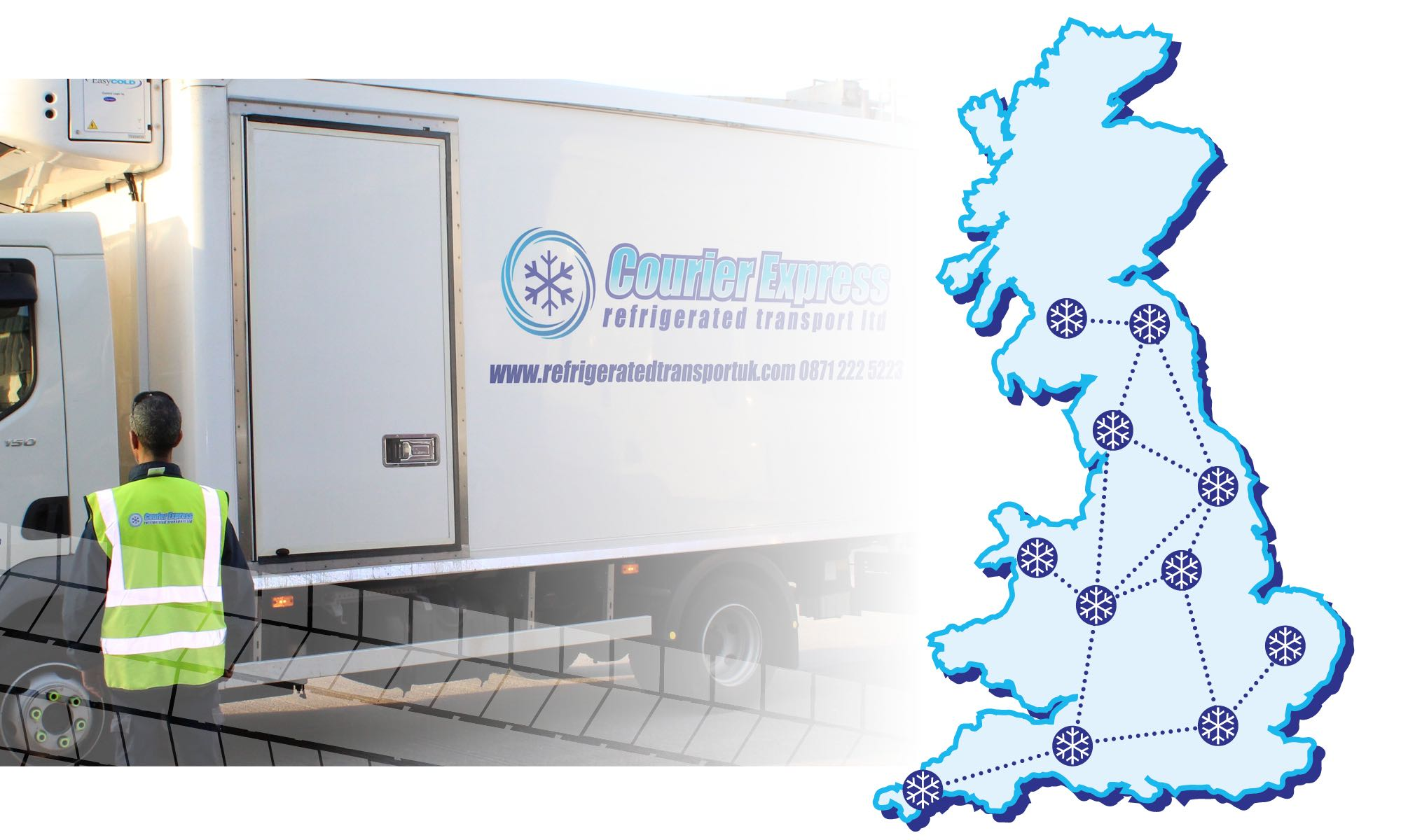Courier Express | New UK locations