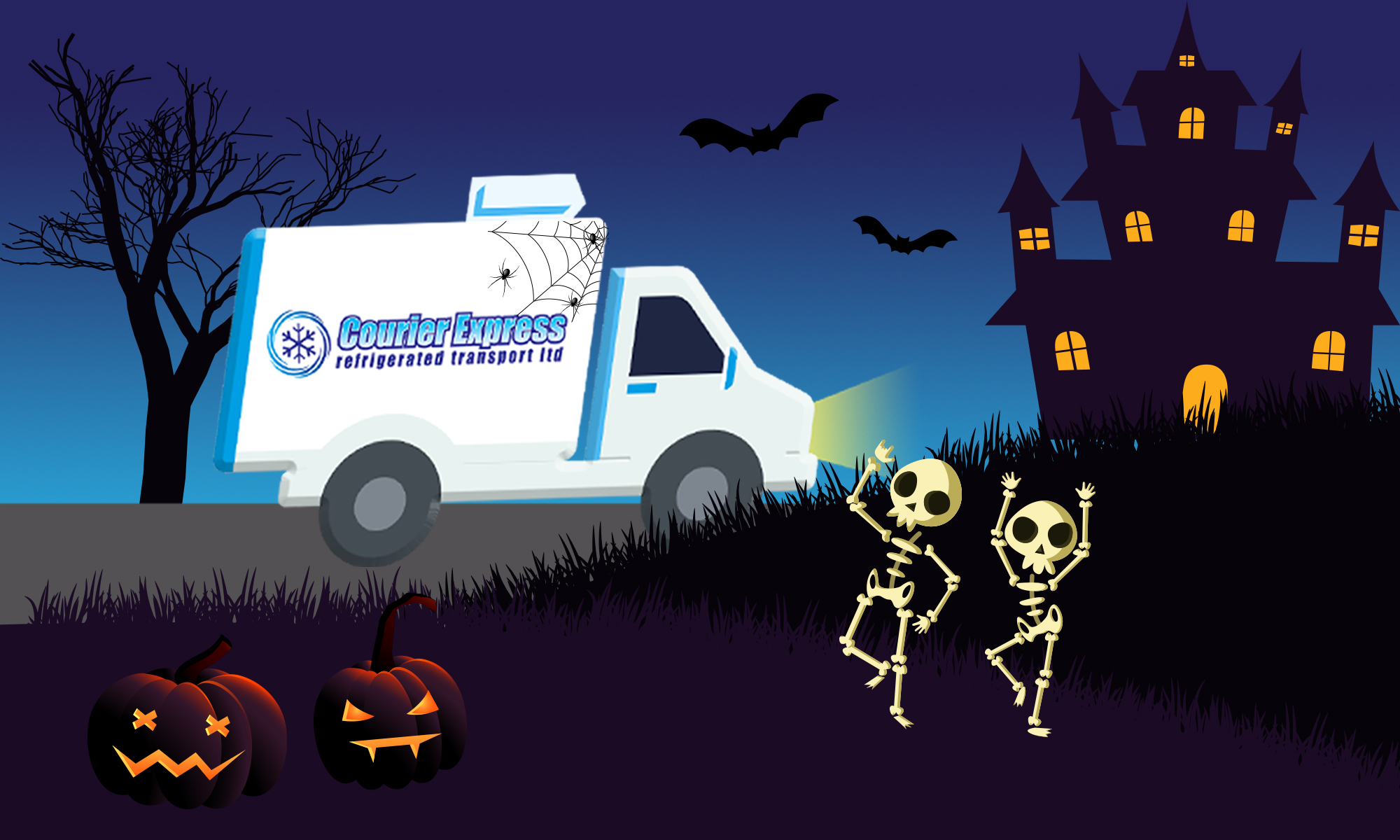 Courier Express - Halloween Courier