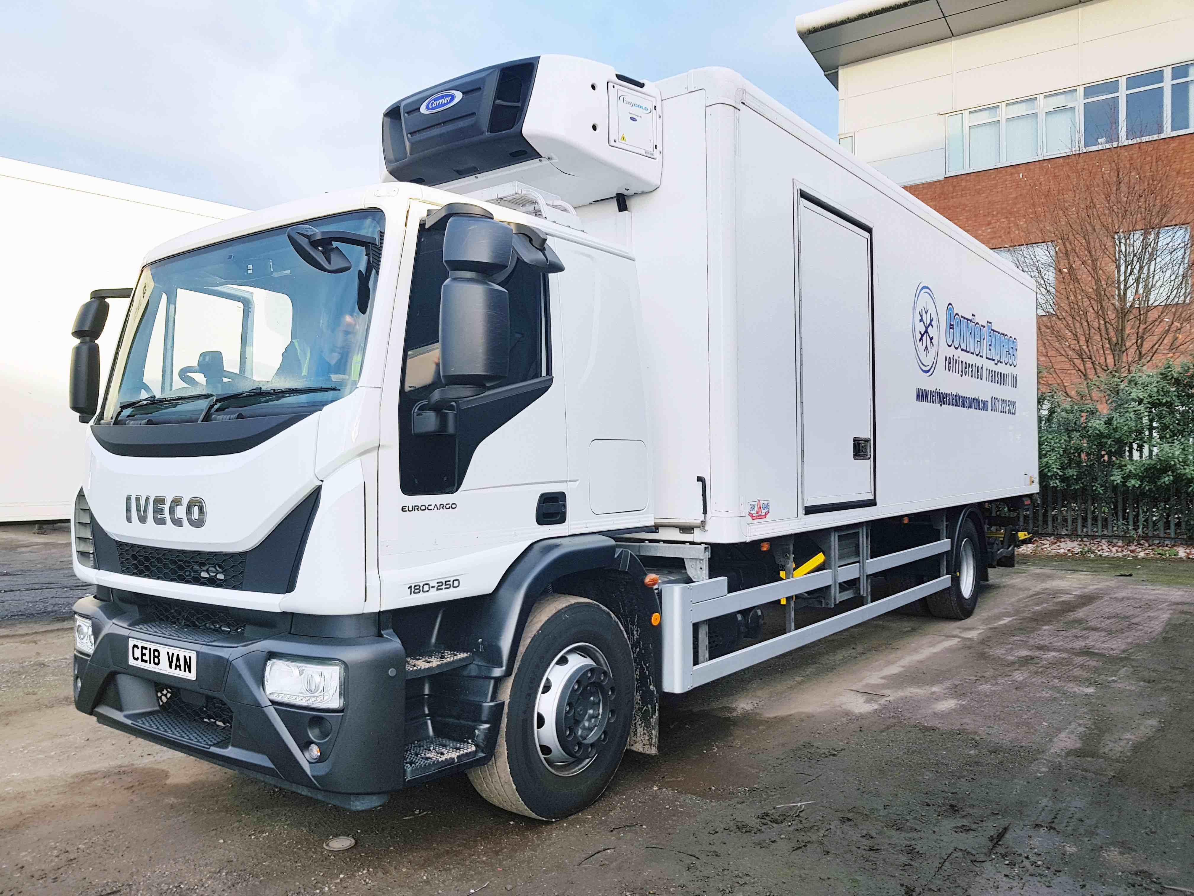 Courier Express | 18-tonne multi-temperature vehicle