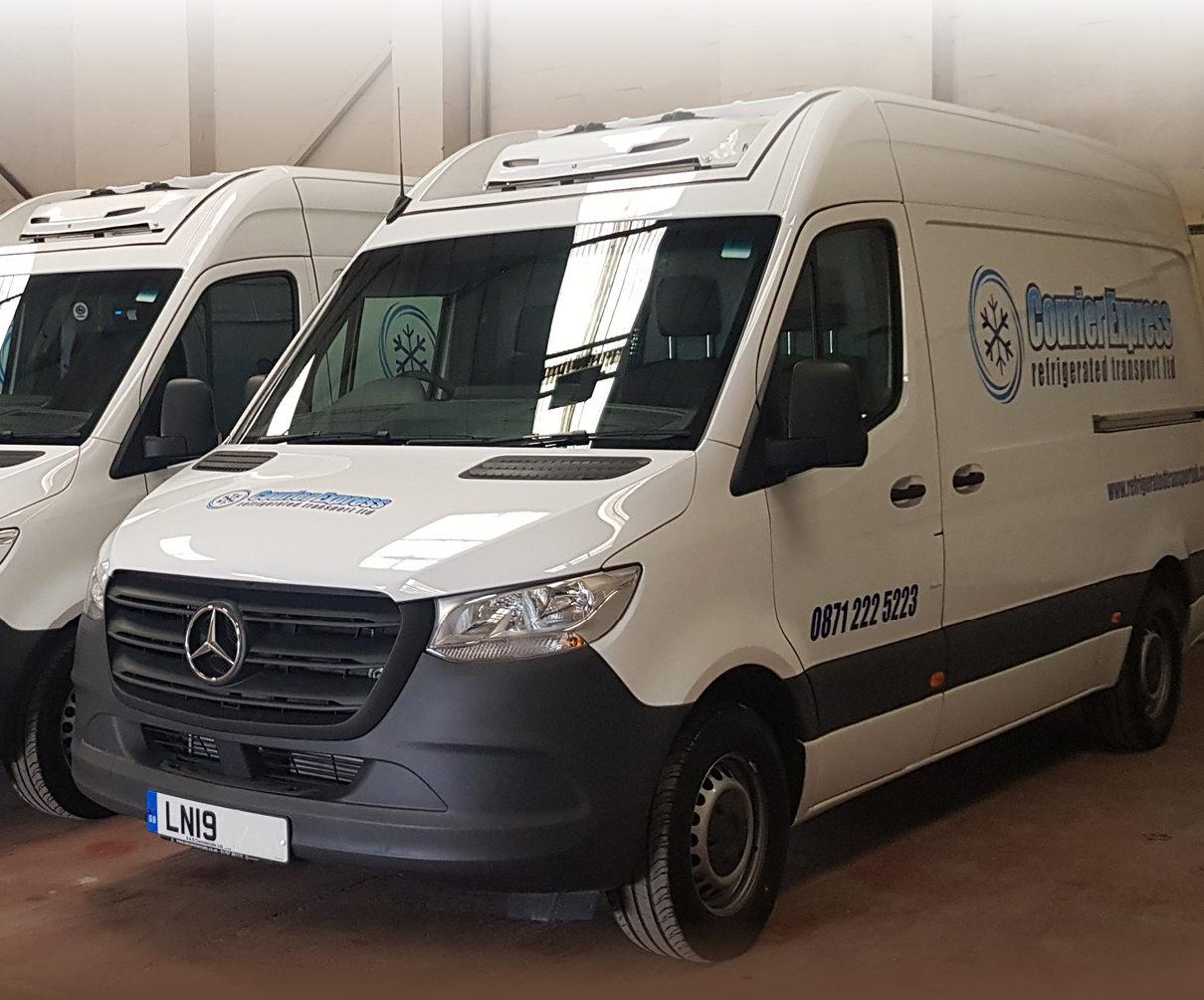 courier express x 4 vans
